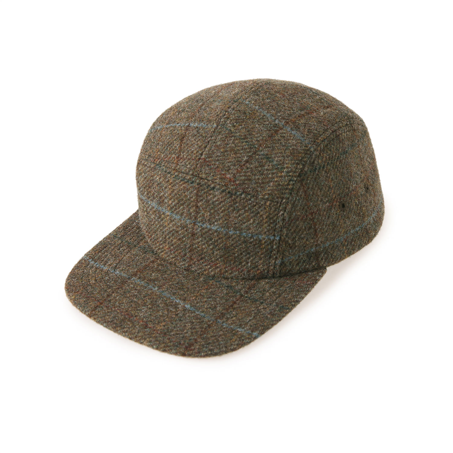 25% OFF_Moon Tweed Camp Cap (Brown)