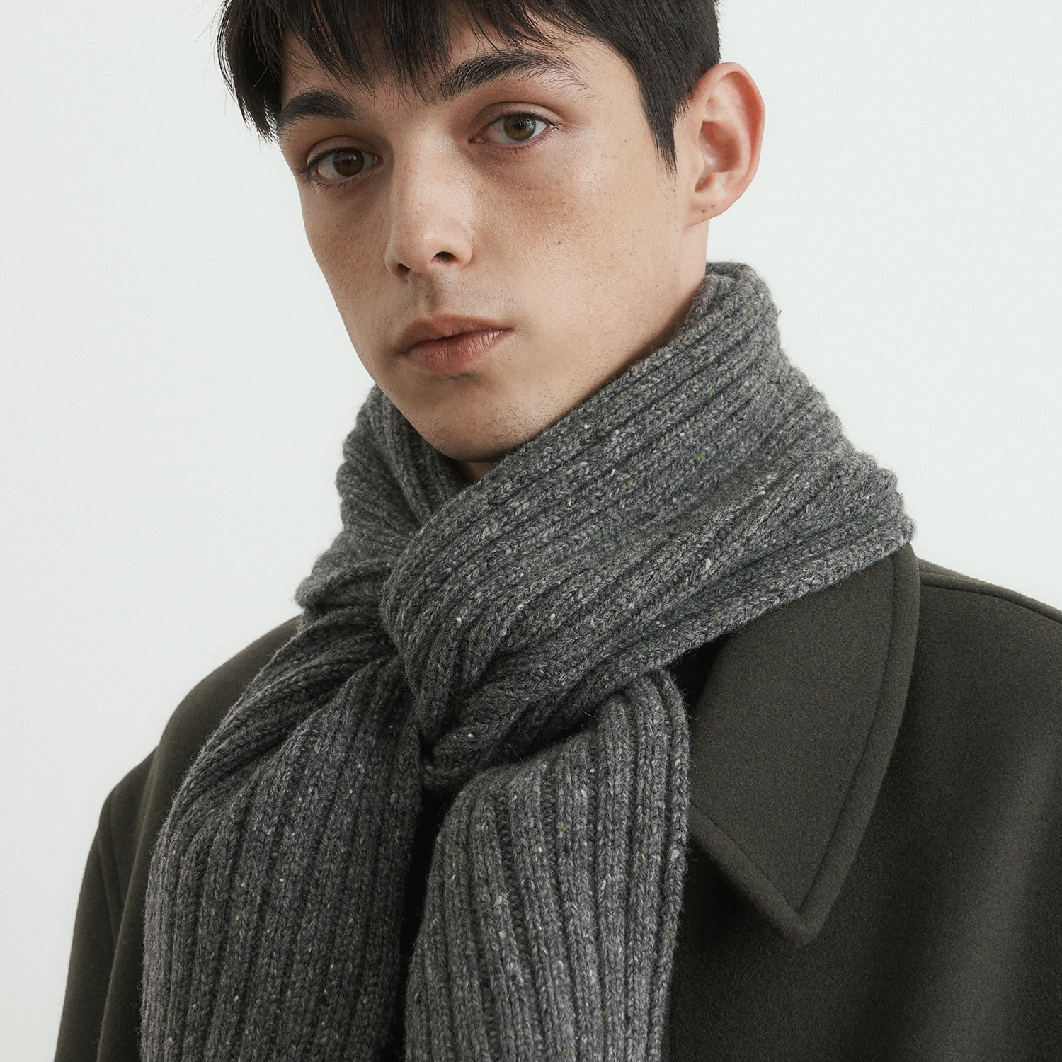 Current Kilcarra Muffler (Heather Grey)