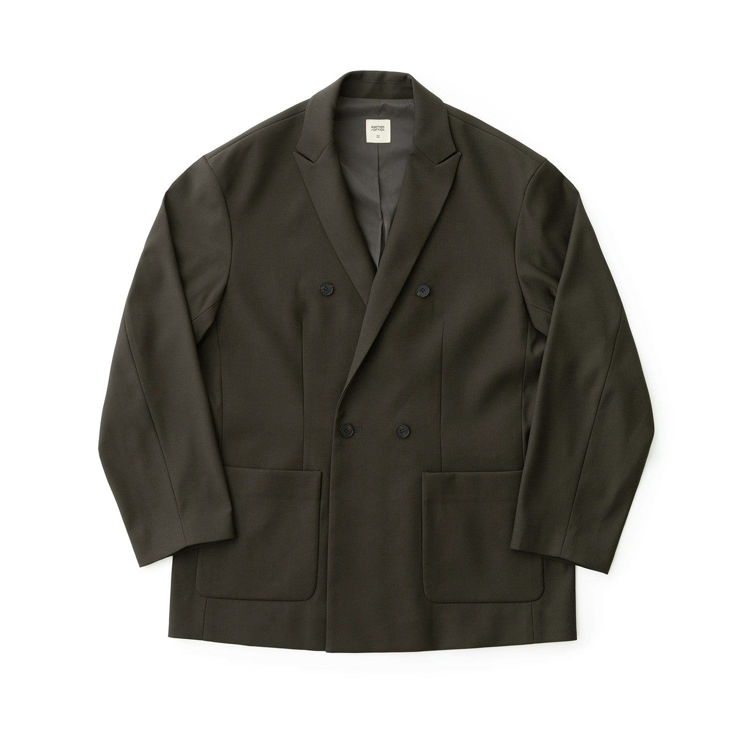 Calm Double Jacket (Olive Brown)